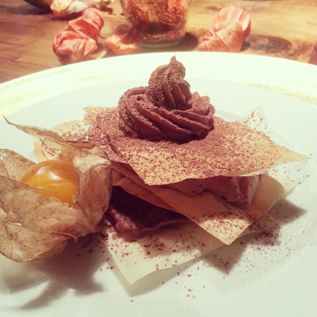 Schokolade-Maroni-Lasagne